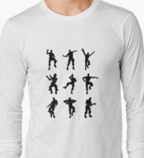 Fortnite Dances - small Long Sleeve T-Shirt