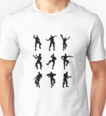 Fortnite Dances - small Unisex T-Shirt