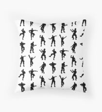 Fortnite Dances - small Throw Pillow