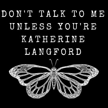 Don't Talk - Katherine Langford -13RW (White) by JStuartArt