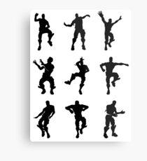 Fortnite Dances - small Metal Print