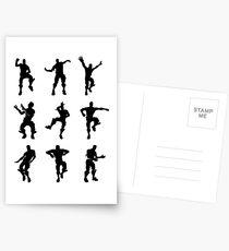Fortnite Dances - small Postcards