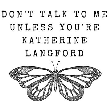 Don't Talk - Katherine Langford -13RW (Black) by JStuartArt