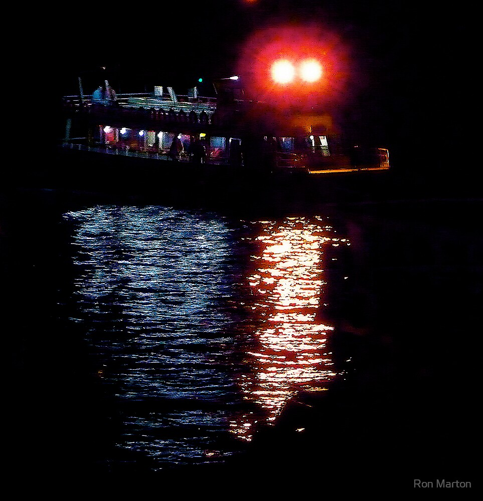 Night Crossing by Ron Marton