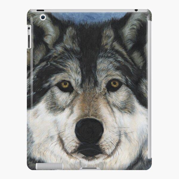 Alpha Grey Wolf iPad Snap Case