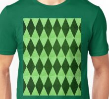 Green Diamonds 2 Unisex T-Shirt