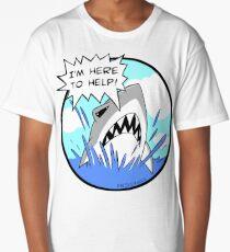 Kyle the Friendliest Shark Ever Long T-Shirt