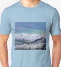 Fluid Nature - Abstract Mountain Landscape Unisex T-Shirt