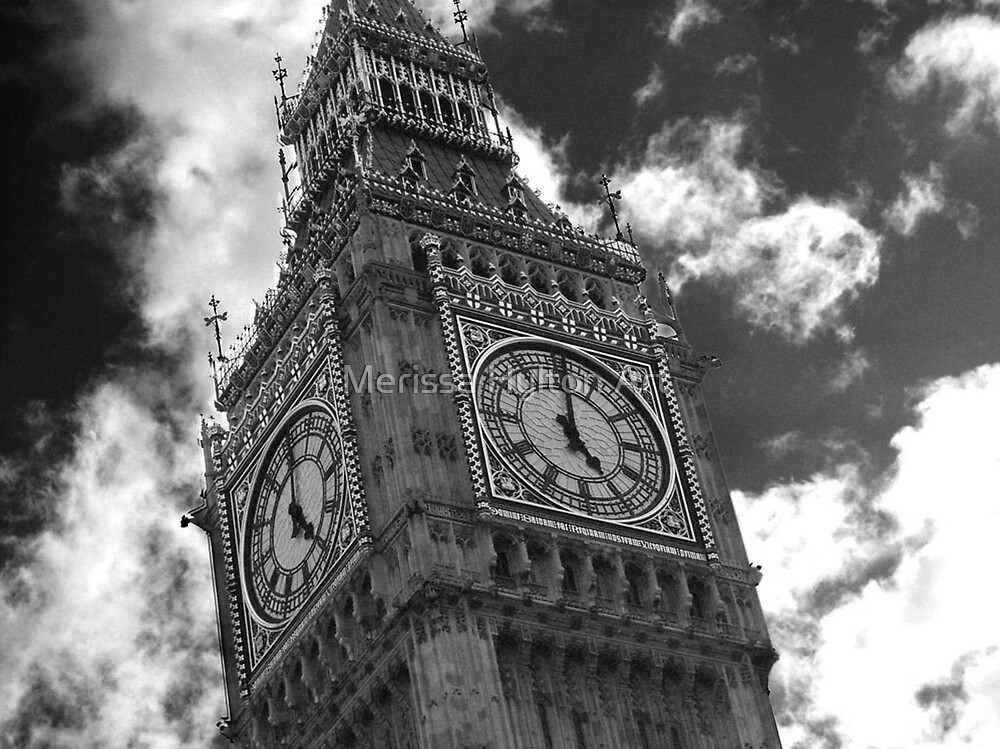 Big Ben by Merissa Hylton Art