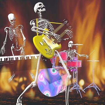 Skeleton Rock Group #2 by fotokatt