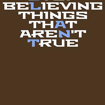Slant Things that Aren't True by Secularitee