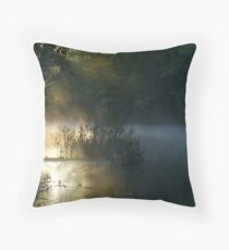 DAWN AT CLARKS CREEK Throw Pillow