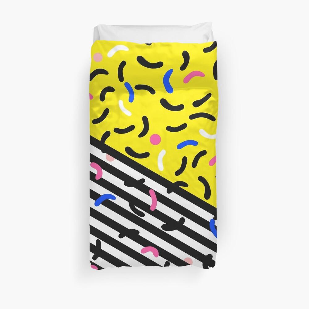 80s pop art 003 Duvet Cover