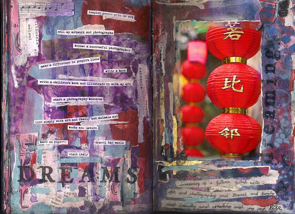 Art Journal - Dreams by Clare Reid
