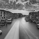 Sunrise on the Grand Canal by Delfino