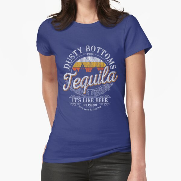 Es ist wie Bier! Tailliertes T-Shirt