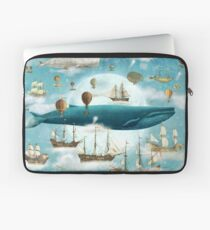 Ocean Meets Sky - Book Cover Laptop Sleeve