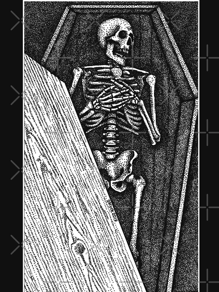 Death Bed Stipple by GrizzlyGaz