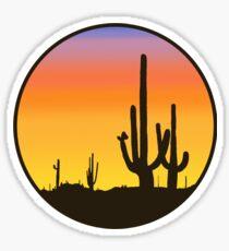 Cactus Silhouette Sticker