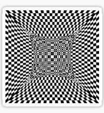 schwarz weiss mixx 001 Sticker