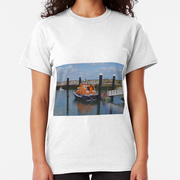 Standing By For A Shout (Lifeboat) Classic T-Shirt