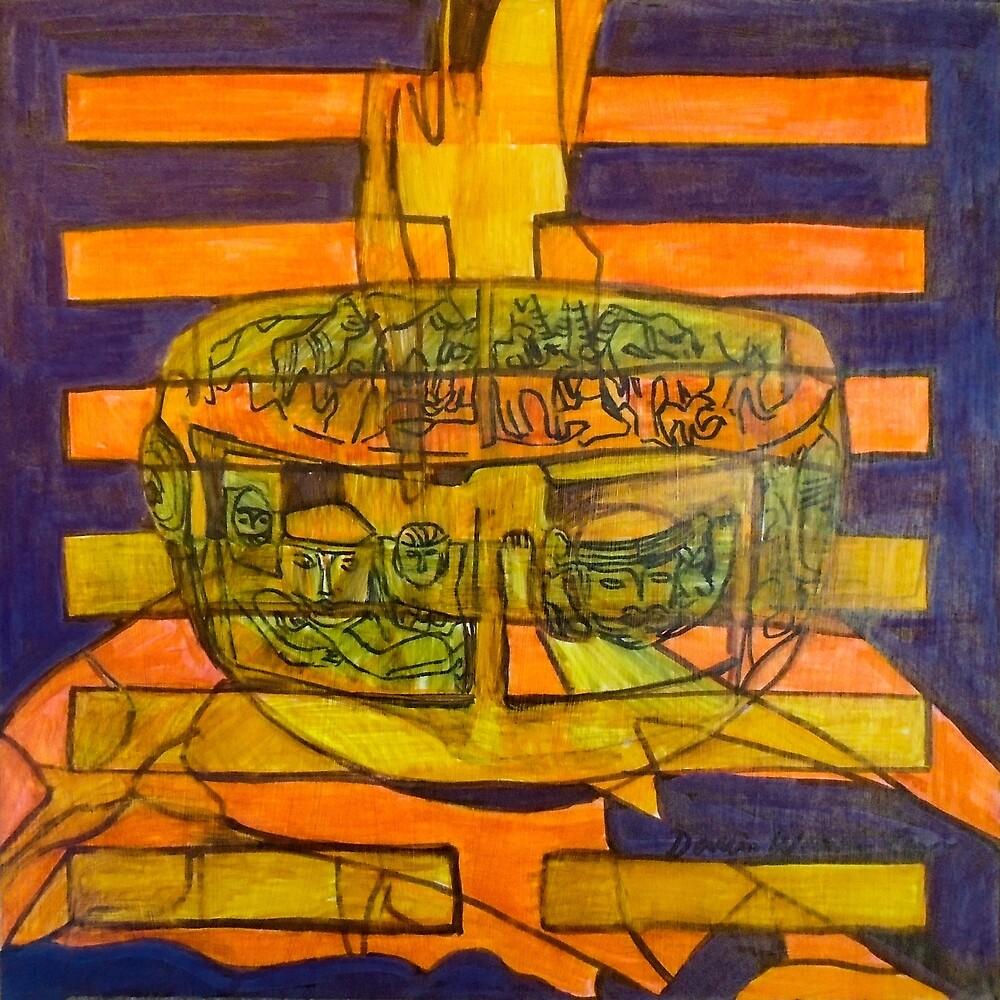 Hexagram 50: Dĭng (The Cauldron) by Denise Weaver Ross