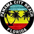 Panama City Beach Florida Gulf Of Mexico Palms by MyHandmadeSigns