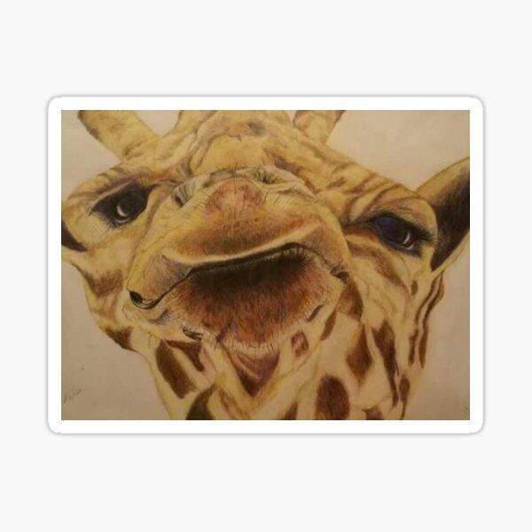 Wilbur the Giraffe Sticker