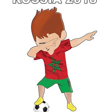 morocco shirt soccer by yellowpinko