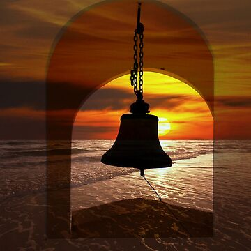 Mission Bell In The Dry Arc Of Panama by alabca