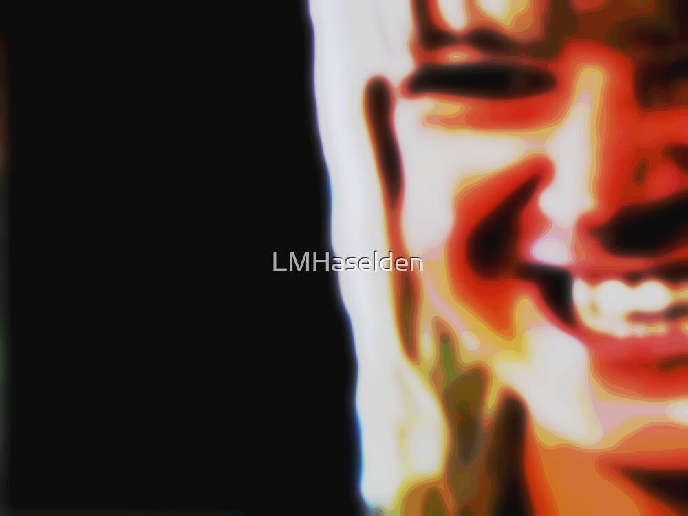 Smile like you mean it. by Lynne Haselden