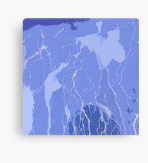 Blue Rays by FreddiJr Canvas Print