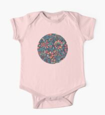 Sweet Spring Floral - melon pink, butterscotch & teal Kids Clothes