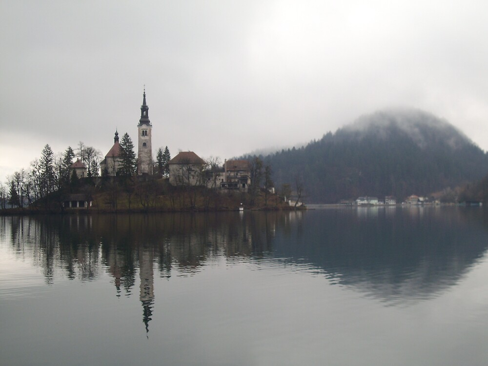 Bled Lake by clairet