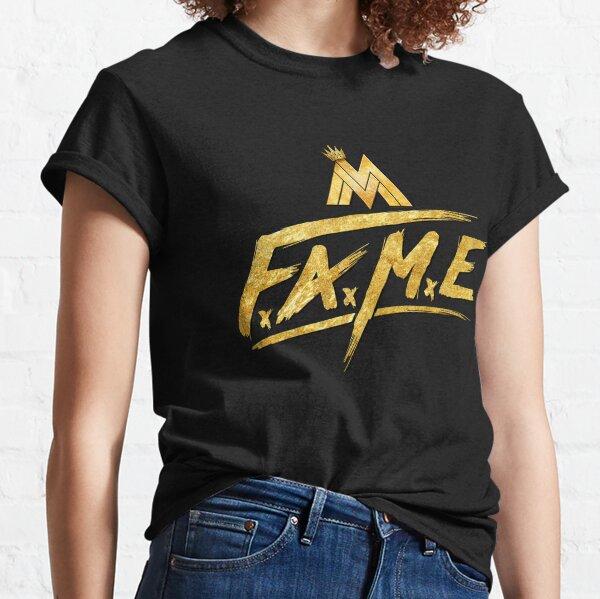 Maluma Gold Fame Logotipo Camiseta clásica