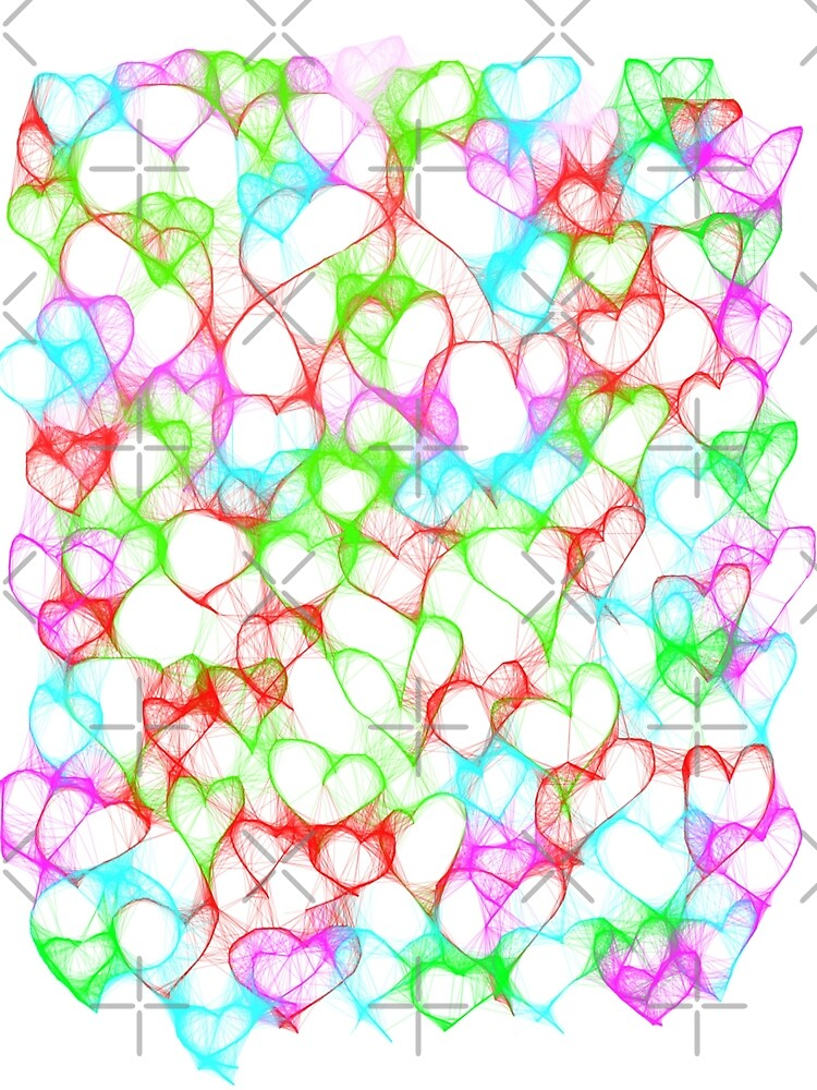 Colourful HeArts  - JUSTART © by JUSTART