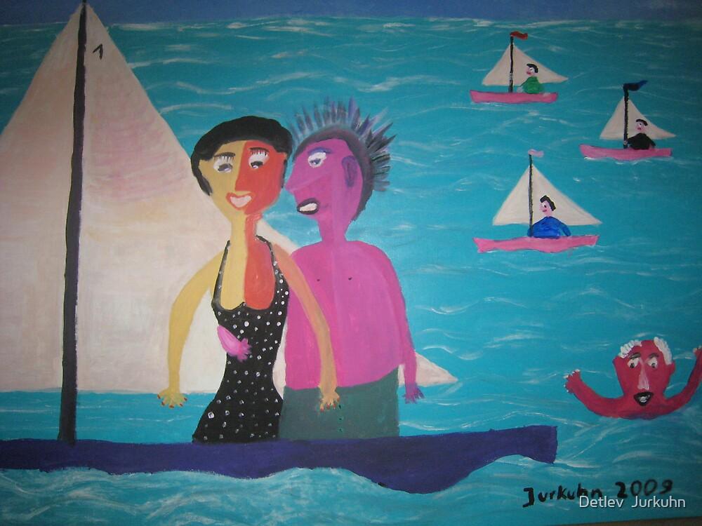 Sailing by Detlev  Jurkuhn
