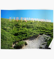 Field of Prayer Flags, IOW  Poster