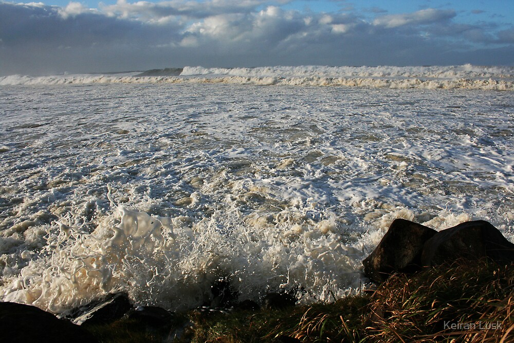 Surge of the Silent Foam... by Keiran Lusk