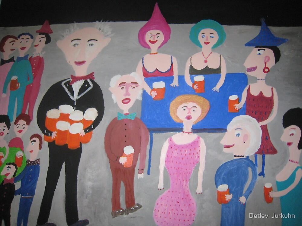 Beer  party by Detlev  Jurkuhn
