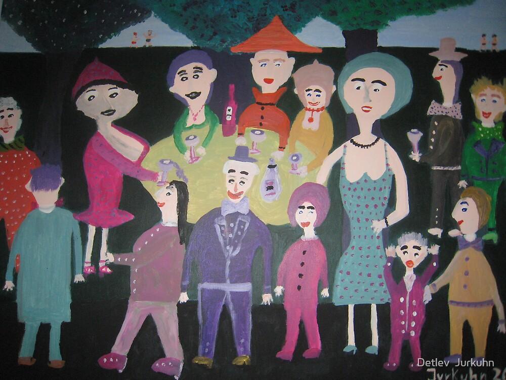 Garden party by Detlev  Jurkuhn
