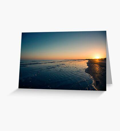 Kiawah Sunset Greeting Card