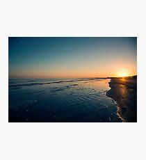 Kiawah Sunset Photographic Print