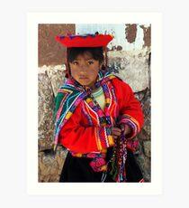 PEDDLER - PERU Art Print