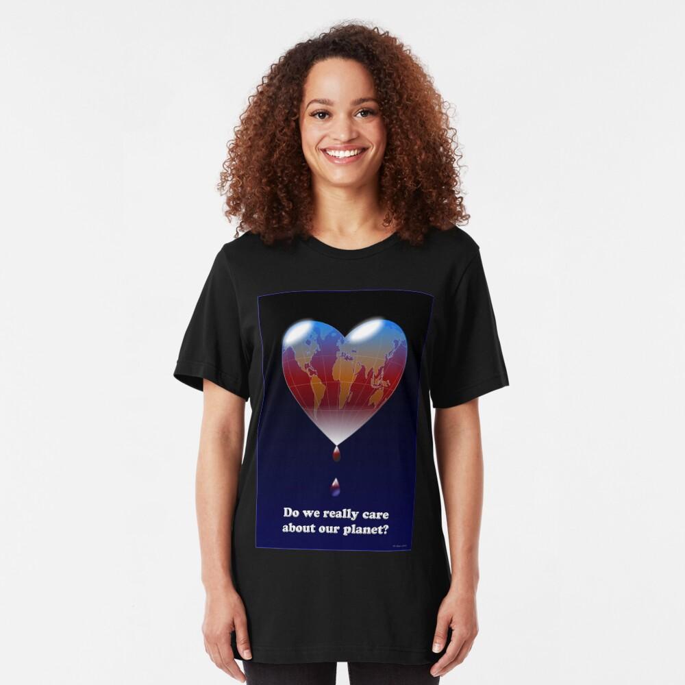 Crying Planet Slim Fit T-Shirt