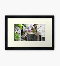 Lovely arch Framed Print