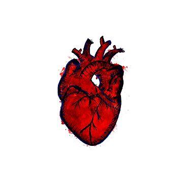 heart of frida by Pintarrajearte