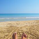 Feet take a holiday! by michelleduerden