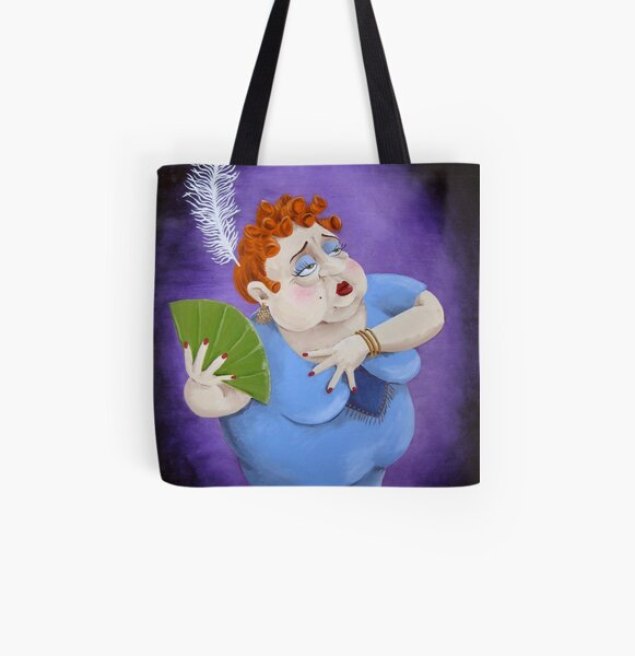 The Songstress All Over Print Tote Bag