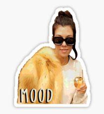 Mood Kourtney  Sticker